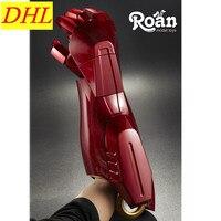 Роан MK7 Электрический руку Gauntlet левой руки правая рука руку Электрический Дистанционное управление перчатки 1:1 модель Железный человек Кос