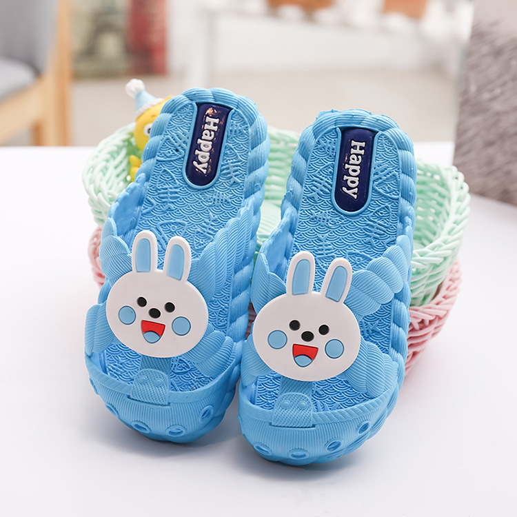 Hot Sale Summer Emoji Children Slippers For Girls Kids Korea Flip Flop Sandals Boys Smiley Home Bath Shoe Non-slip Flat Cartoon Animation Latest Technology Boys Mother & Kids