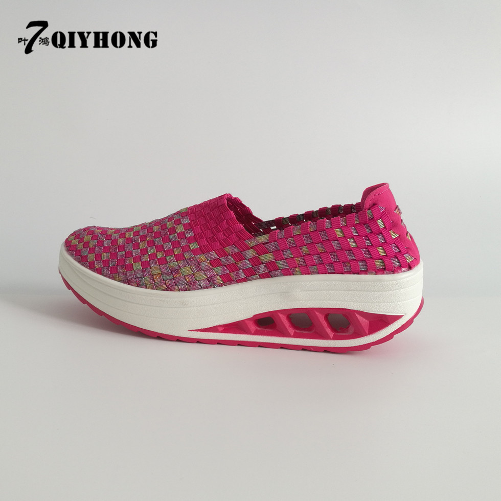 2017 New Summer Women Shoes QIYHONG Brand Femal Flat Platform Fashion Comfortable Woven Women Shoes Breathable Casual Shoes Flat women casual flat shoes 2016 summer new breathable shoes comfortable flat shoes student