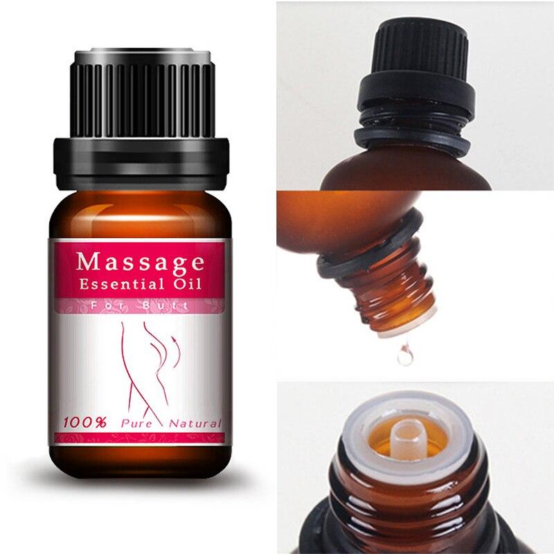 Hanche ascenseur bout à bout élargissement 100% Pure huile de parfum de Rose naturelle pour les fesses vers le haut huile de Massage soins du corps huile essentielle bout à bout TSLM1 3