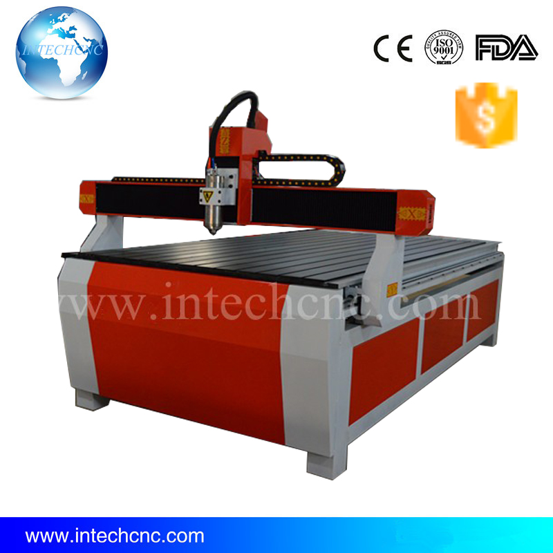 Economic for door and furniture 3.0KW 1224 cnc router for stone