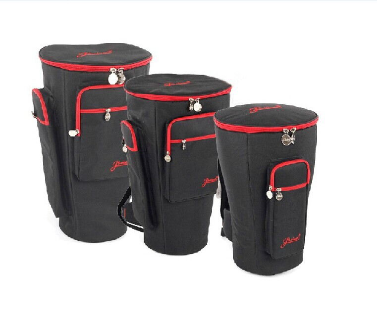 8 10 12 13 Djembe Bag Thick Shockproof Africa Drum Bags Tambourine Shoulders Back Waterproof Instrument Package Free Shippin In Cases From