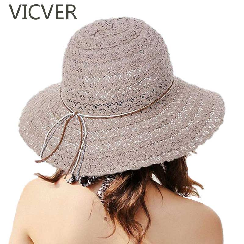 Hollow Summer Beach Cap Women Lace Sun Hat Fashion Breathable Fisherman Hats Female Travel Beach Caps Casual Foldable Sun Cap in Women 39 s Sun Hats from Apparel Accessories
