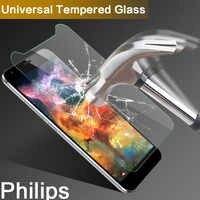 Universal de vidrio templado para Philips S358/S396/S398/S399 TD-LTE 5,0 pulgadas 9 H 2.5D Protector de pantalla para Philips S 358/396/398/399