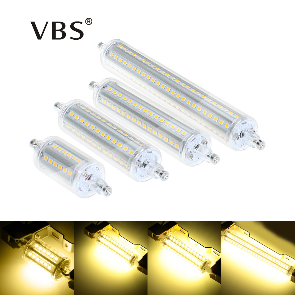 R7S LED Bulb Lamp 5w 8w 10w 13w SMD 2835 LED Corn Bulbs 78 118 135 189mm Lampadas AC85-265V Lantern Replace Halogen Lamp lexing lx r7s 2 5w 410lm 7000k 12 5730 smd white light project lamp beige silver ac 85 265v