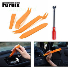 Pdr Set Auto Pdr Removal Tools Automobiel Nail Puller Radio Audio Panel Deur Repareren Clip Trim Removal Pry Reparatie Tool plastic(China)