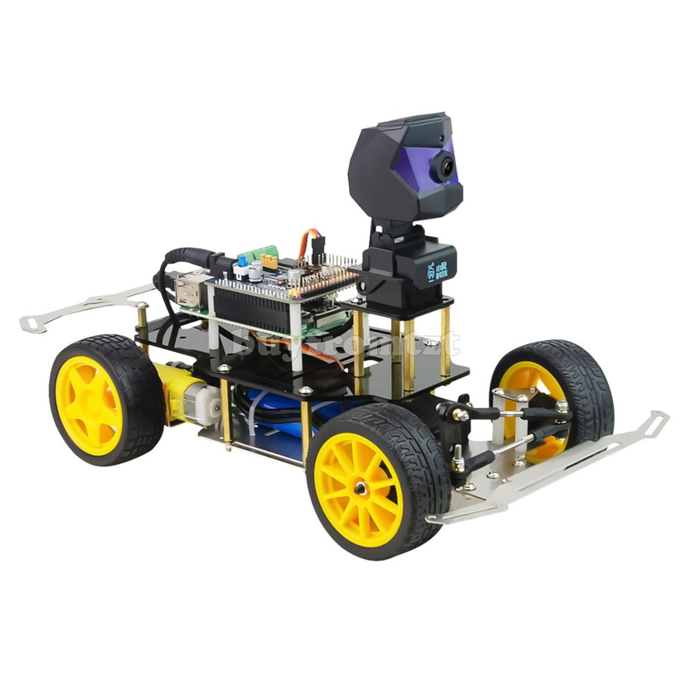 XR-F1 Donkey Car Smart Robot Car Kit AI Self Driving Car Kit w/ 720P HD Camera UnfinishedXR-F1 Donkey Car Smart Robot Car Kit AI Self Driving Car Kit w/ 720P HD Camera Unfinished