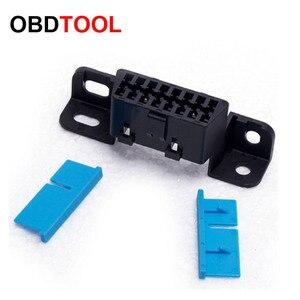 Image 3 - 10pcs 16pin Obd2 Connector OBD 16Pin Female Angle Connector OBD 2 Female Wire Sockets Connector Obd Ii Adapter Diagnostic Tools