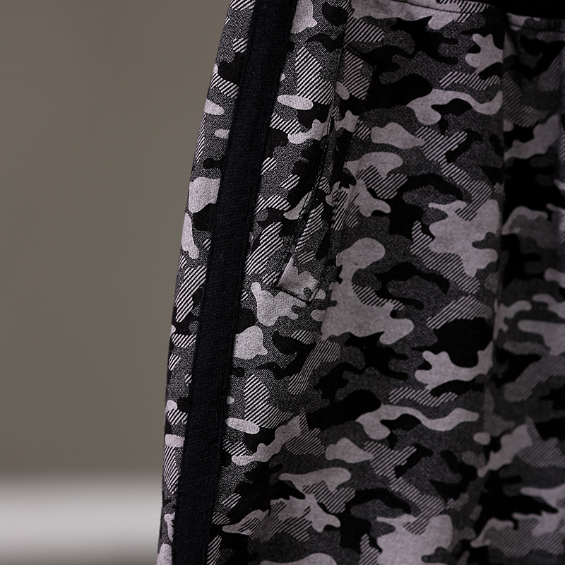 Grande Camuflaje Suelta Y Literatura Flojo Camouflage Pantalones Primavera Ocio 2018 Mujer Cintura Arte Código Empalme K3832 1gUIFxw1q