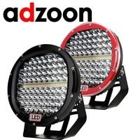 ADZOON LED Driving Light 9inch 378W Car Lamp 12V 24V Spot Flood For 4WD 4x4 Truck Trailer SUV Offroad Boat ATV