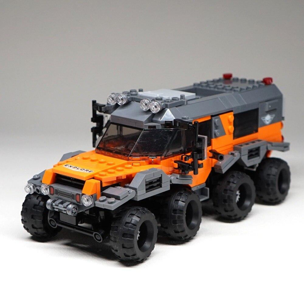 529 pcs 8x8 ATV Technique Voiture Modèle Blocs De Construction Briques Jouets 23006 Hayon 23012 Arakawa Compatible avec legoINGly
