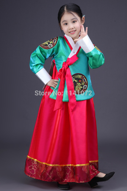 5a8faa95a3f6 Children Korean Dress Kids Traditional Costume Girl Korean ...