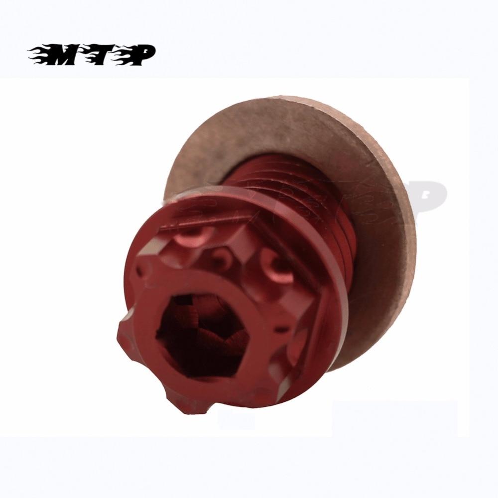 CNC Billet Magnetic Oil Drain Plug Bolt Screw For Honda CBR900RR CBR954RR CB1000R CBR1000RR RVT1000R VTR1000F VTR1000SP ST1100 50mm billet split clip on ons handlebars for honda cbr 929 954 00 03 01 02 cbr 1000 rr cbr10000rr rvf 750 r 94 95 vtr 1000 00 06
