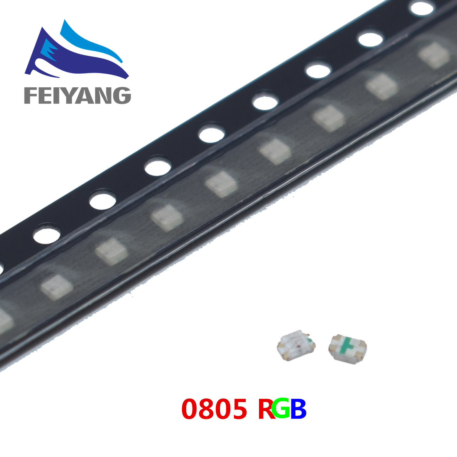 4000pcs SMD 0805 2012 RGB smd led 0805 led diode 2 0 1 2mm RED Green