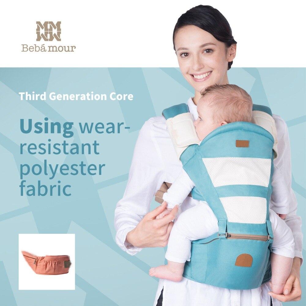 Hipseat Mochila Ergonomica Portabebe Baby Carrier 360 Baby Kangaroo Backpack Baby Wrap Ring Sling for Babies