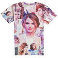 Men's 3D T Shirt Character Print Britney/Miley Cyrus T-Shirt Summer Men Women Tees Top Funny Harajuku Hip Hop Clothing Costume