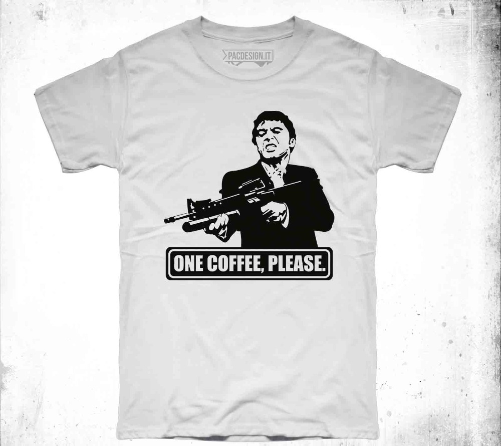 Tops & Tees Amicable Man Clothes Fashion Casual T-shirt Uomo Al Pacino Scarface Tony Montana Vintage Why So Vintage Dk0036amake Your Own T Shirt Men's Clothing