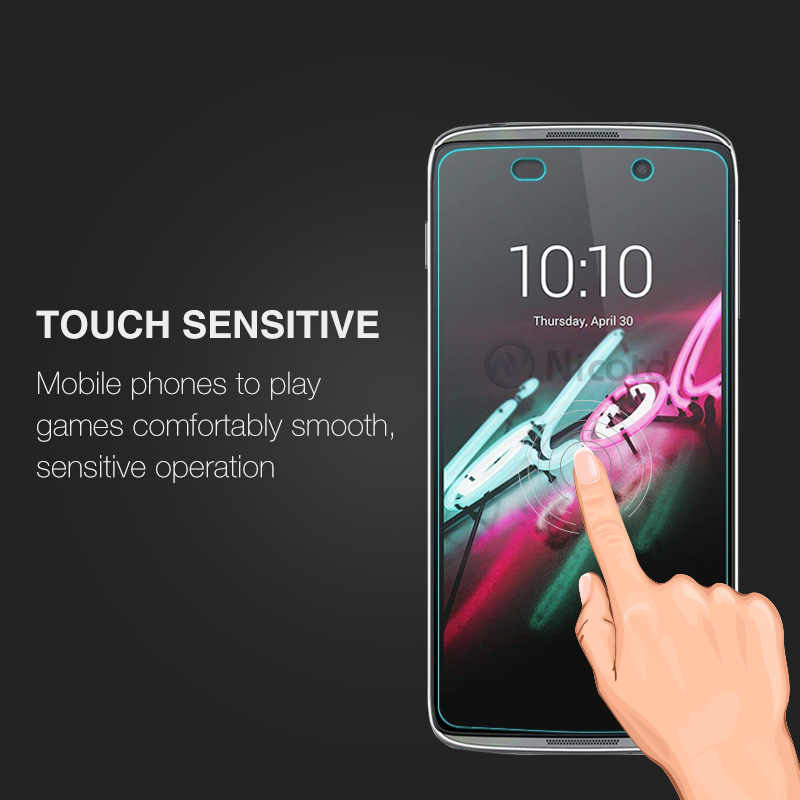 Alcatel One Touch idol 3 4.7 Ekran Koruyucu 2.5D 9 H Temperli Cam koruyucu film Için Onetouch idol 3 6039 6039J 6039Y