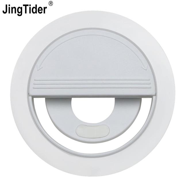 JT1 Mini LED Selfie Flash Light LED Ring Light For iPhone Samsung For Xiaomi HuaWei 36 Bulbs 5600K Smart Phone Beauty Fill Light
