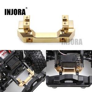 Image 1 - INJORA Brass Front Servo Stand for 1/10 RC Crawler Car Traxxas TRX4 TRX 4 TRX 6 Upgrade Parts