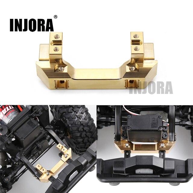 INJORA Brass Front Servo Stand for 1/10 RC Crawler Car Traxxas TRX4 TRX 4 TRX 6 Upgrade Parts