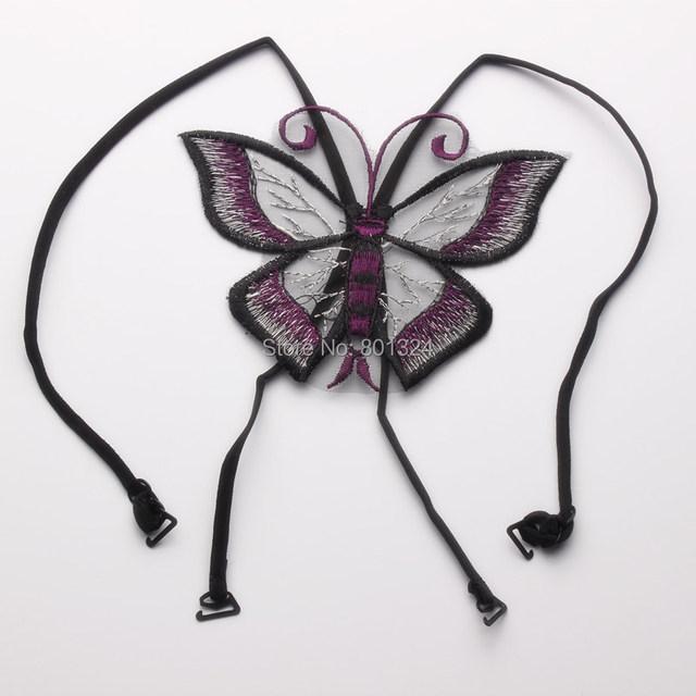 Women Butterfly Cross-Shoulder Bra Strap