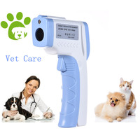 2018 Digital Pet Thermometer Non contact Infrared Veterinary Thermometer for Dogs Cats Horses and Other Animals C/F Switchable