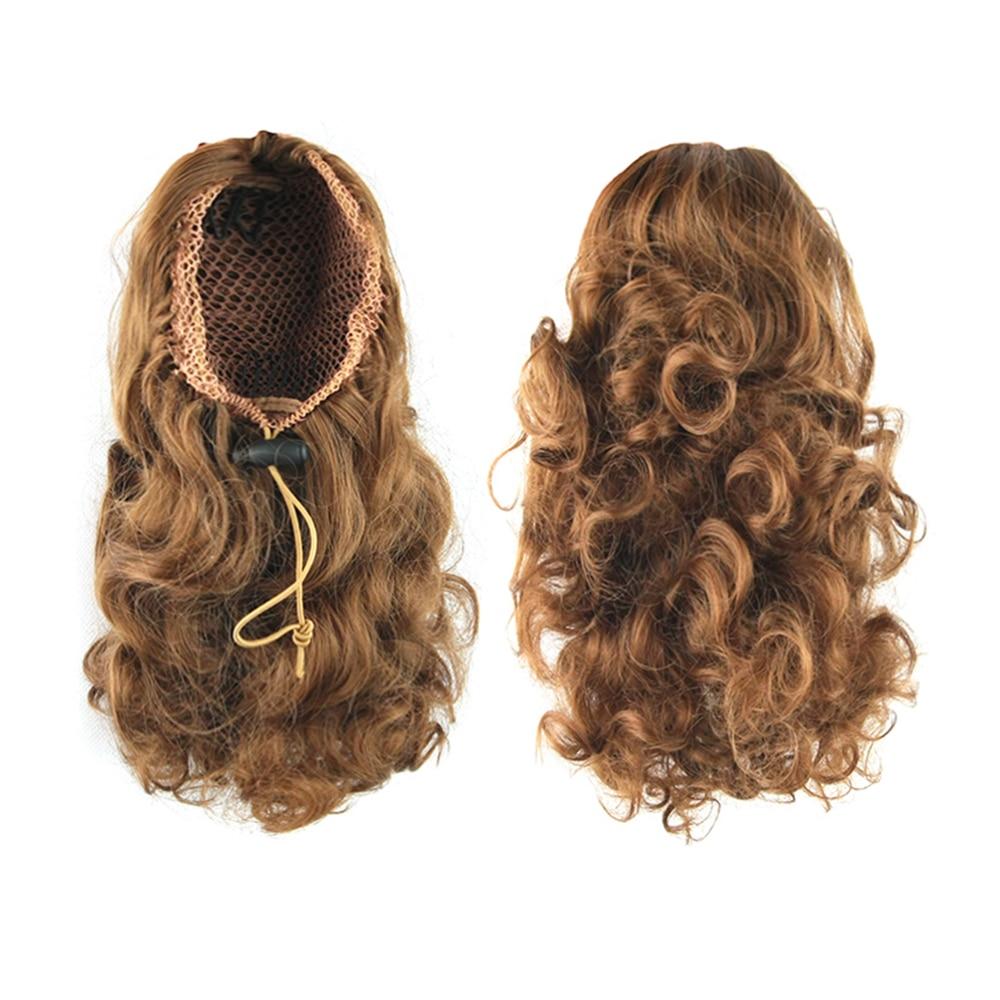 soowee short curly hair ponytail
