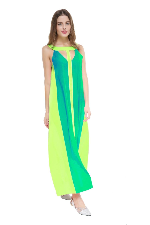 Sexy Frauen Sommer Lange Maxi BOHO Langes Kleid Strand Petite Maxi ...
