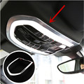 For Porsche Cayenne Macan Panamera ABS Interior Front Reading Light Cover Trim