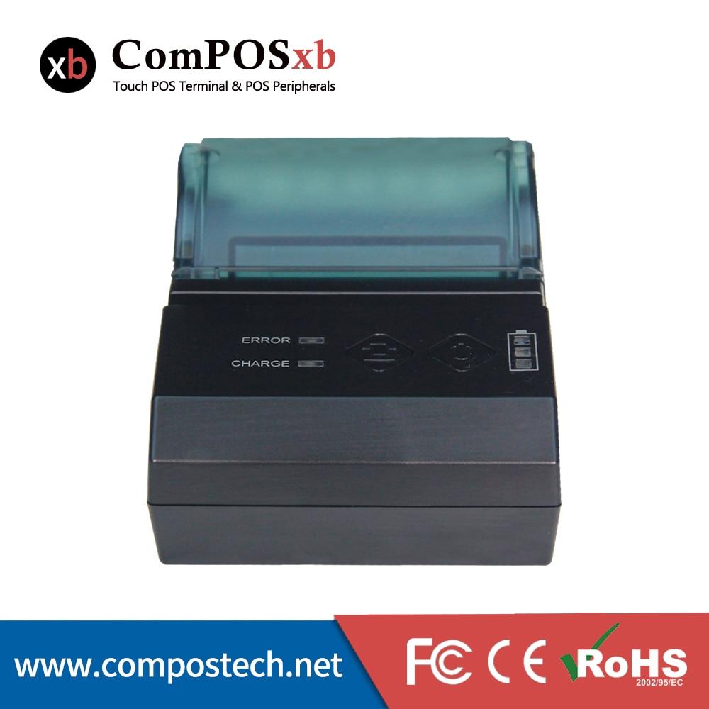 Mini imprimante thermique portative de reçu de position du Port série 58mm d'usb de Bluetooth prend en charge l'imprimante thermique de téléphone Portable d'ios/Android