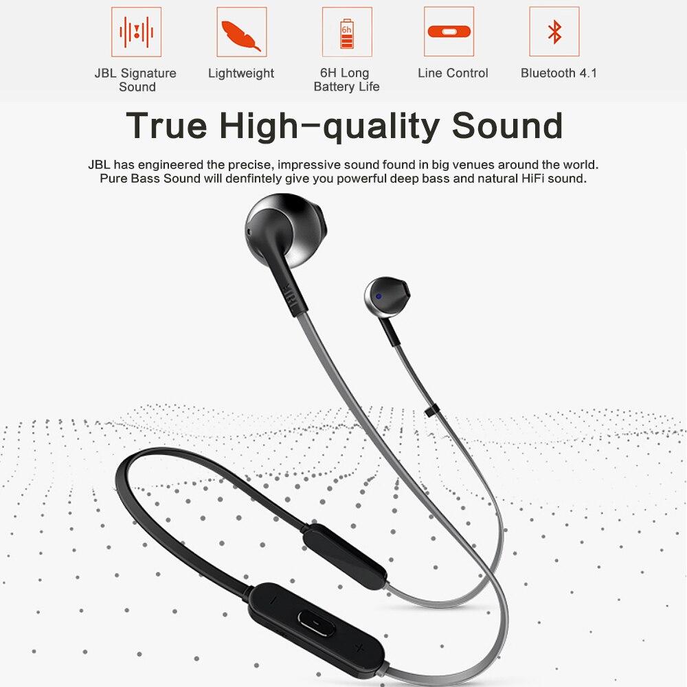 JBL TUNE 205BT Wireless Earbud headphones 8