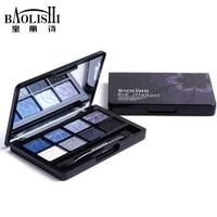 Baolishi 1pcs Hot Sell 8 Color Naked Best Matte Eyeshadow Palette Urban Professional Natural Brand Makeup