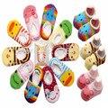 Высокое качество 10 пар/лот = 20 шт. детские носки с животными детские уличной обуви детские анти-слип прогулки подарок дети носок детский