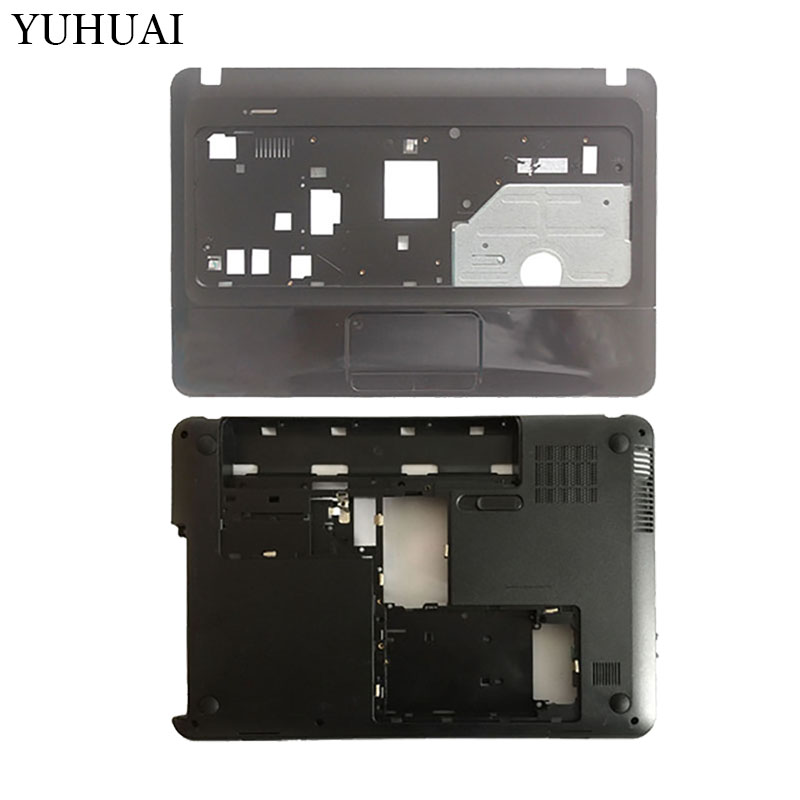 New Laptop cover For HP 1000 450 455 CQ45-m00 6070B0592901 685080-001 Palmrest Upper cover/Bottom case Base Cover Assembly new top cover upper case for hp 450 455 palmrest 685762 001 6070b0591701 gray