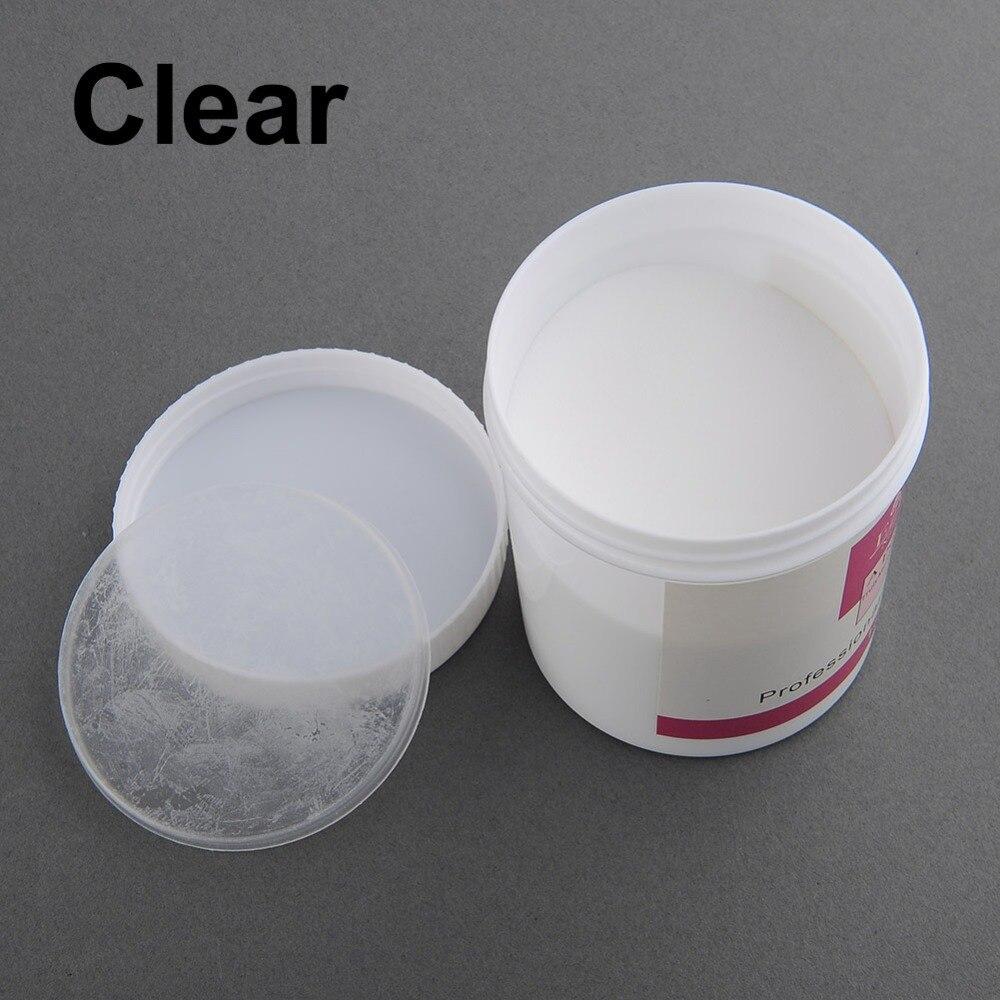 ezflow 1 Bottle 120g Acrylic Powder Crystal Powder Nail Tips Polymer ...