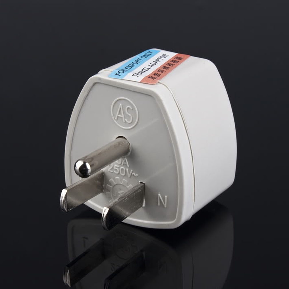 Us to uk ac power plug white black travel wall adapter plug converter - 2016 Hot 1pc Au Uk Eu To Us Ac Power Plug Adapter Adaptor Converter Outlet Home