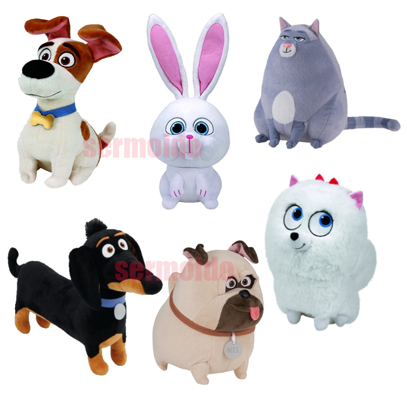 Life Pets Dog White Rabbit Movies Movie Chloe The Cat Buddy The Dachshund Mel Snowball Bunny Gidget The Dog Soft Toys toy story bunny toys