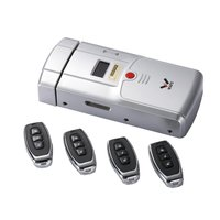 WAFU HF 011A Smart Door Lock Bluetooth Enabled Fingerprint Lock and Touchscreen Keyless Deadbolt with Built In Alarm