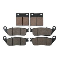 6 Pcs Semi Metallic Disc Front Rear Brake Pads For Suzuki RF 600RR 1993 1997 GSF 600 Bandit 1995 1999 GSF 400 BANDIT 1995 1997