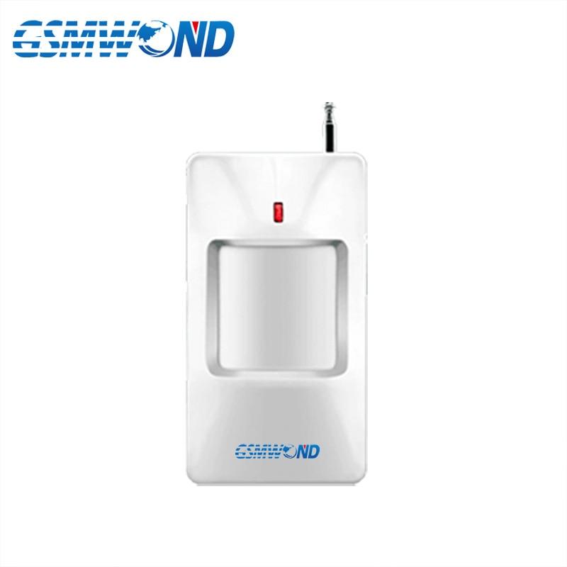 433MHz Drahtlose Infrarot Detektor PIR Motion Detektor Für Home Einbrecher GSM Alarm System Wireless Sensor Alarm|detector pir|detector infrareddetector motions -