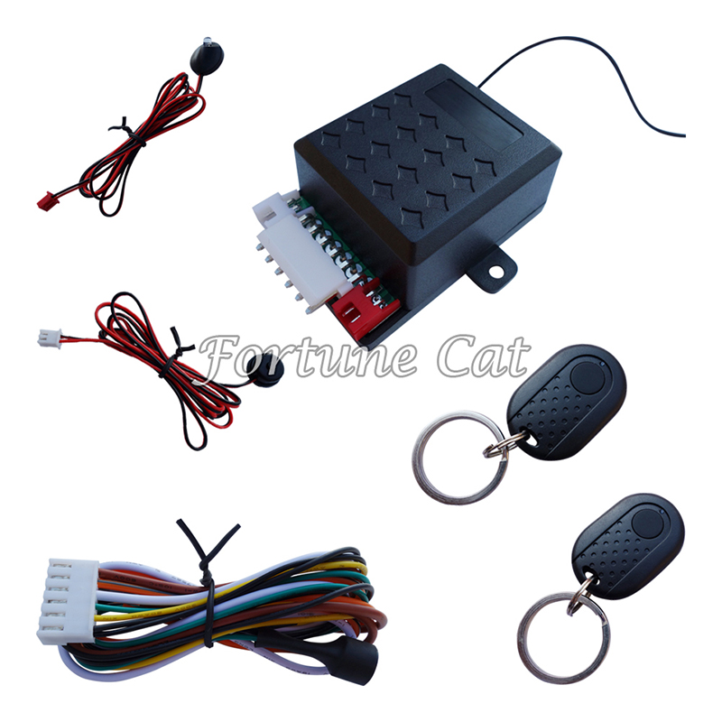 car engine immobilizer hidden lock alarm system   dc  cars  motorcycles  tire