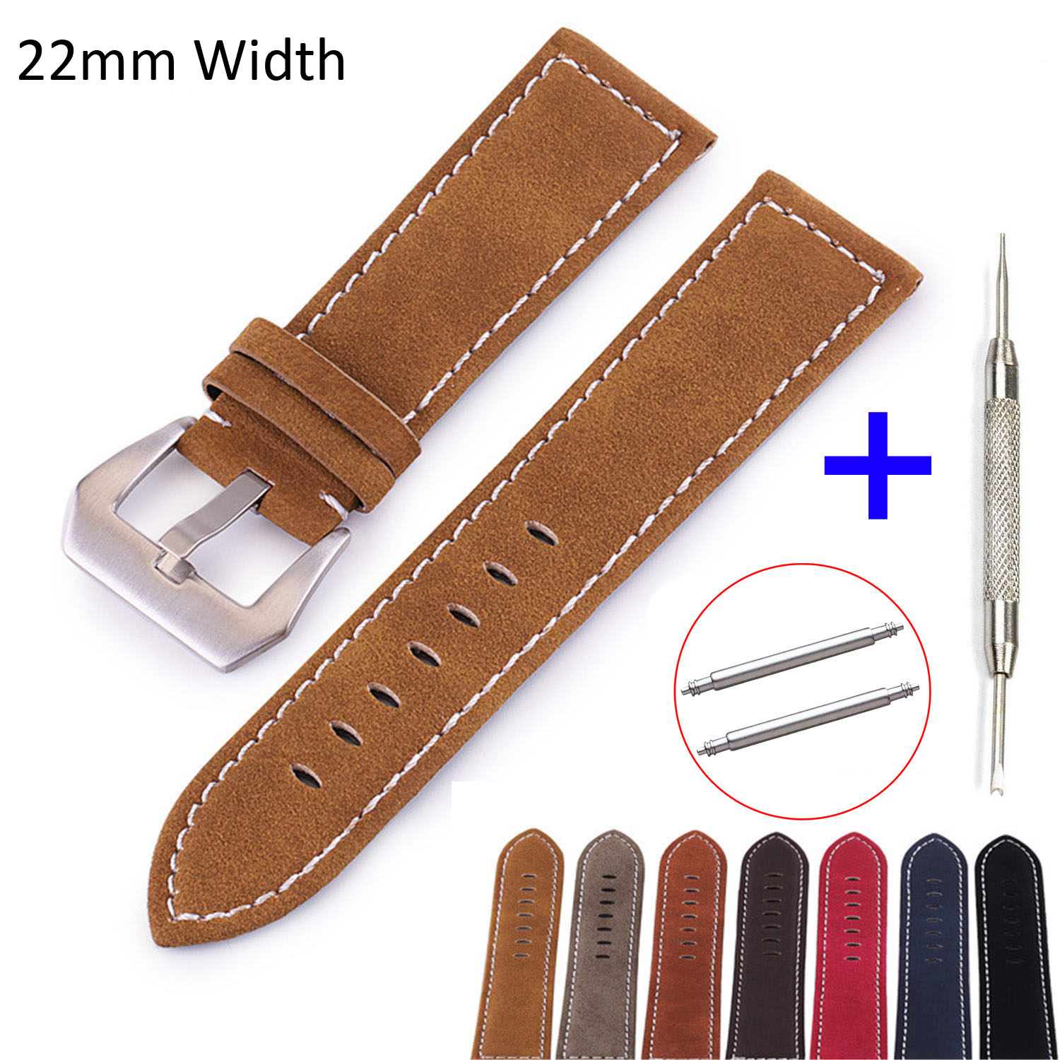 22mm Amazfit Strap for Xiaomi Huami Amazfit Pace Stratos 2 Strap Leather Strap Bracelet Amazfit 2 Band for Samsung Gear S3 amazfit leather bracelet watch band 22mm for xiaomi huami amazfit pace stratos 2 correa wrist strap for samsung gear frontier s3
