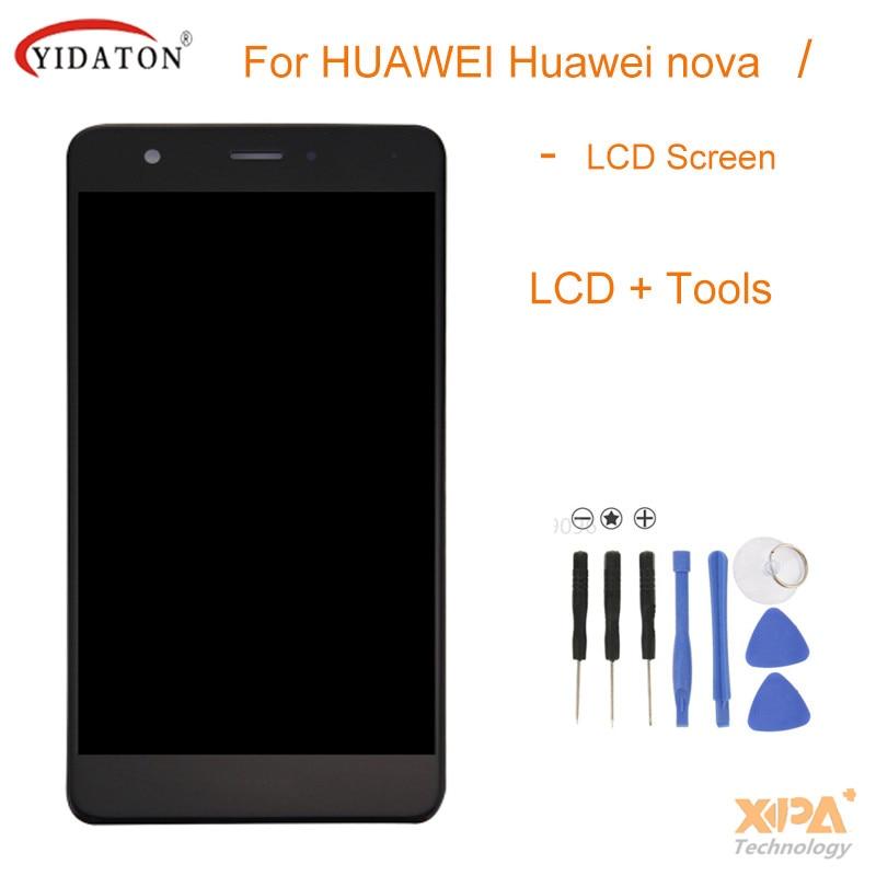 Para huawei nova pantalla lcd de alta calidad pantalla lcd + pantalla táctil de