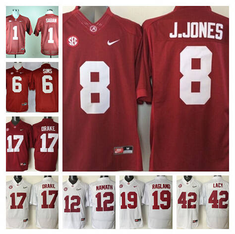 big sale 1da46 5763c australia youth alabama crimson tide 6 blake sims 2014 red ...