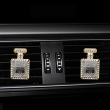 Inlay Water drill Perfume bottle car Air conditioning outlet perfume car perfume car interior accessories car fragrance