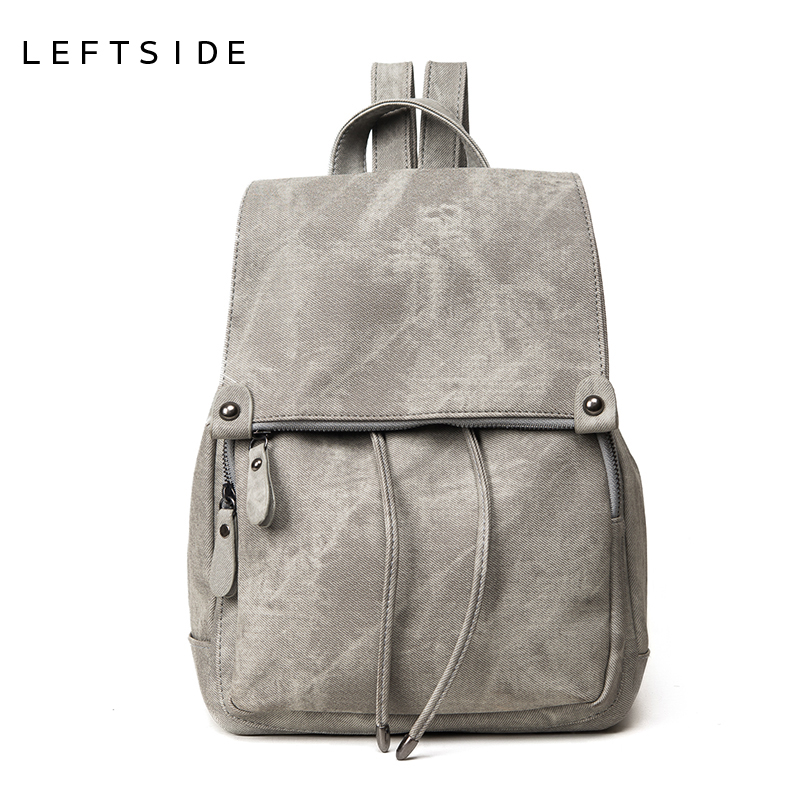 LEFTSIDE 2017 school back packs New Korean Backpacks Fashion denim Women Backpack cute Girls boys Bags for school Travel bagsLEFTSIDE 2017 school back packs New Korean Backpacks Fashion denim Women Backpack cute Girls boys Bags for school Travel bags