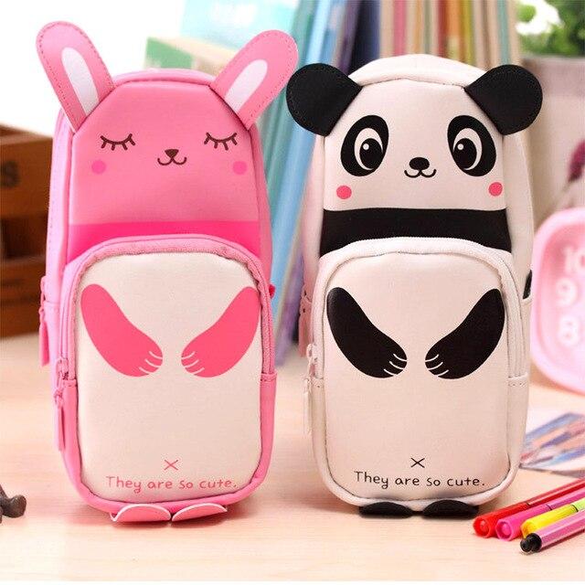 Acheter 1 Pièces Dessin Animé Panda Porte Crayon Pour Filles