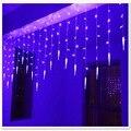 1.5x0.5 m LEVOU Cortina de Luz de Cordas Luzes do Feriado do Dia de Valentie Multicolor Festa de Casamento Guirlanda De Natal Gelo Cônico lâmpadas