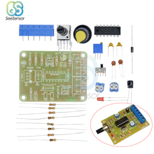 1 Set ICL8038 Monolithic Function Signal Generator Module DIY Kit Sine Square Triangle Electronic Board DC 12V